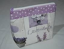 Taštičky - levanduľová kozmetika - 10052100_