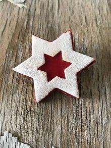 Odznaky/Brošne - Linecká hviezda - 10050438_