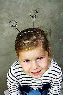 Ozdoby do vlasov - Cínovaná čelenka - Ufónec - 10057870_