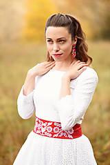 Šaty - Krajkové svadobné šaty - 10057573_