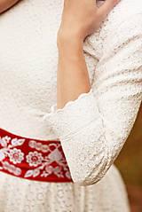 Šaty - Krajkové svadobné šaty - 10057575_