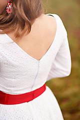 Šaty - Krajkové svadobné šaty - 10057577_