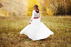 Šaty - Krajkové svadobné šaty - 10057579_