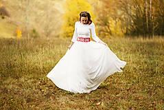 Šaty - Krajkové svadobné šaty - 10057582_