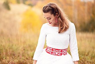 Šaty - Krajkové svadobné šaty - 10057576_