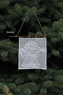Dekorácie - AKCIA Anjelik s trúbkou - 10057121_