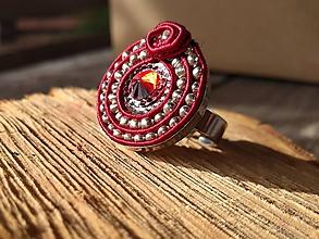 Prstene - Red ROSE - 10056883_