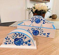 Krabičky - Modro-biela sada z lásky - 10054409_