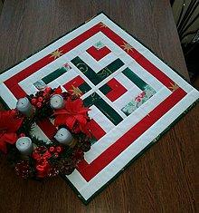 Úžitkový textil - Vianočná štóla - 10056308_