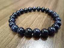 Náramky - Blue sand stone - 10056922_