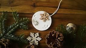 Dekorácie - Vianočná guľa... - 10056280_