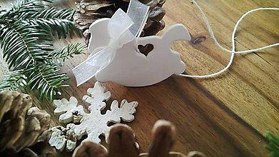 Dekorácie - Vianočný koník - 10056240_