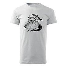Tričká - Tričko Mikuláš (biele tričko) (S - Strieborná) - 10056006_