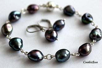 Sady šperkov - Sada River Pearls Teal... - 10056113_