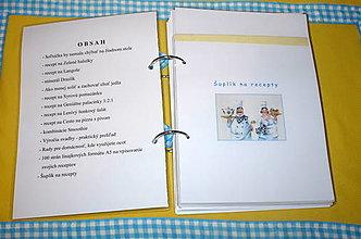 Papiernictvo - Zlatá kniha receptov - kuchárska kniha - 10057176_
