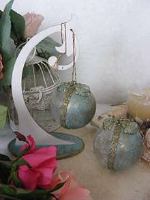 Dekorácie - Vianočné gule ... AKCIA - (pôvodne 5,50E) - 10054072_