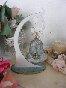 Dekorácie - Vianočný zvonček ... AKCIA - (pôvodne 5E) - 10054228_