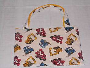 """Detské tašky - Detská taštička """"stavebné stroje"""" - 10054603_"""