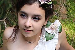 - strieborný náhrdelník CUTE WILDNESS  (vtáčik) - 10054052_