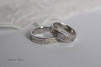 Prstene - Zlaté obrúčky - Šariš - 10054173_