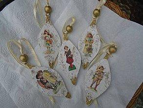 Dekorácie - anjeli - 10056149_