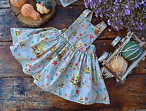 Detské oblečenie - sukňa zásterková (sukňa) - 10060643_