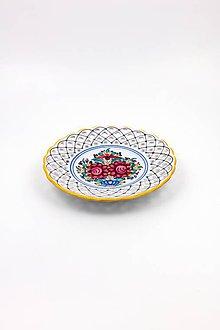 Nádoby - Vyrezávaný tanier - 10059190_