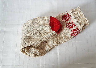 Oblečenie - Pánske folklórne ponožky - 10061166_