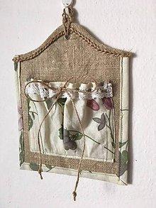 Úžitkový textil - Mini kapsárik / vreckárik - 10059207_