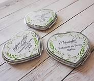 Darčeky pre svadobčanov - Zrkadielko - 10061712_