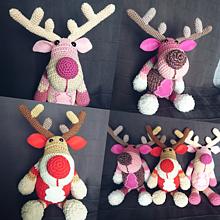 Hračky - Vianoční sobík - 10060307_