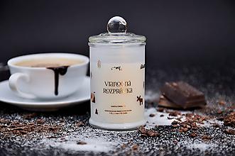 Svietidlá a sviečky - Vianočná rozprávka - Horúca čokoláda - 10061851_