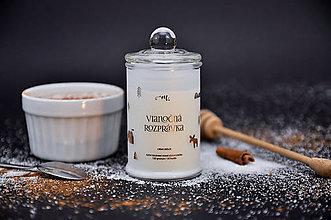 Svietidlá a sviečky - Vianočná rozprávka - Crème brûlée - 10061923_