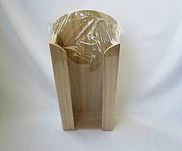 Polotovary - Drevený stojan na vreckovky - 10061424_