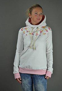 Zelená mikina   Boruvkova - SAShE.sk - Handmade Mikiny 33ec693fe35