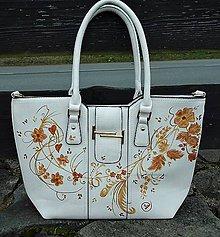 Kabelky - Maľovaná kabelka 12 - 10061383_