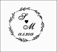 Drobnosti - Svadobná pečiatka 6 - 10061974_