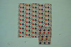 Úžitkový textil - Včelí ekoobal 25*25 - 10058300_