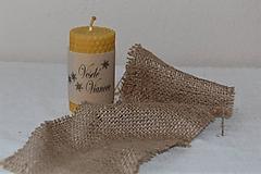 Svietidlá a sviečky - Sviečka s venovaním - 10058031_