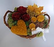 Dekorácie - Narodeninová kytička - 10058714_