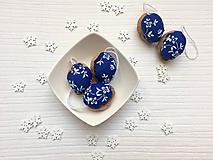 Dekorácie - Modré - 10059180_