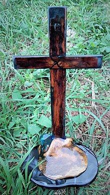 Dekorácie - Sviatočný krížik - 10060287_