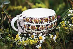 Nádoby - Keramický hrnček - Magdaléna - 10058402_