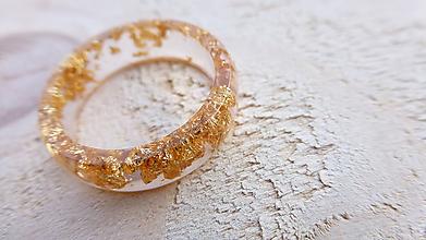 Prstene - Živicový prsteň - 10058694_