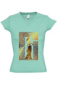 Tričká - Dámske tričko 305 - 10061498_