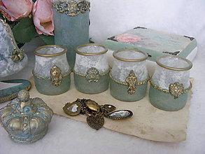 Svietidlá a sviečky - Svietničky na čajové sviečky ... AKCIA - (pôvodne 5E) - 10059269_