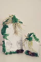 Dekorácie - vianočná dekorácia na stôl - sada - 10059948_