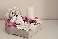 Dekorácie - vianočná dekorácia na stôl - 10059966_