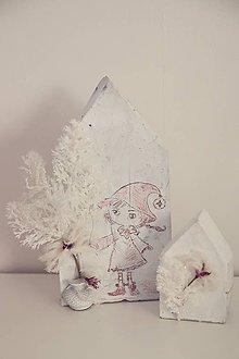 Dekorácie - vianočná dekorácia na stôl - sada - 10059955_