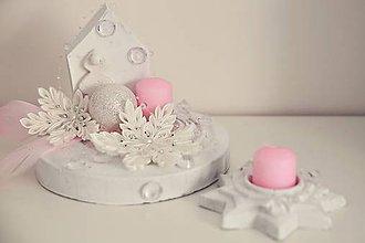 Dekorácie - vianočná dekorácia na stôl - sada - 10059959_